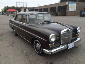Mercedes Benz 1966 nice old and good shape