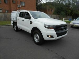 2016 Ford Ranger PX MkII MY17 XL 2.2 Hi-Rider (4x2) White 6 Speed Automatic Crew Cab Chassis Bankstown Bankstown Area Preview