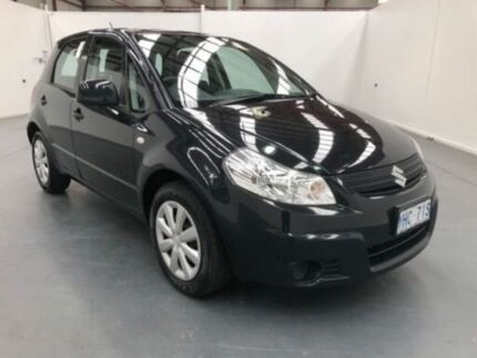 2010 Suzuki SX4 GY MY10 Black 6 Speed Manual Hatchback
