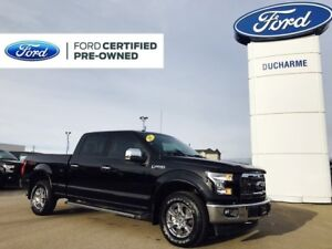 2017 Ford F-150 Lariat, Loaded, MINT, Certified!