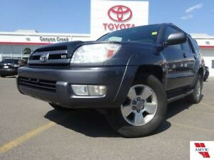 2005 Toyota 4Runner LIMITED V8/DEALER MAINTAINED /CLEAN CARPROOF