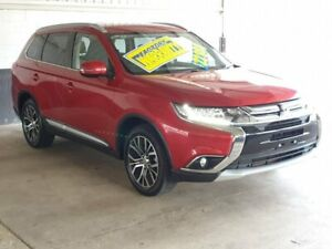 2017 Mitsubishi Outlander ZK LS Red Constant Variable Homebush Strathfield Area Preview