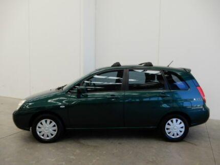 2002 Suzuki Liana RH416 GA Green 4 Speed Automatic Hatchback Braeside Kingston Area Preview