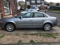 AUDI A4 AUTOMATIC 2006 GREY IN GOOD CONDITION