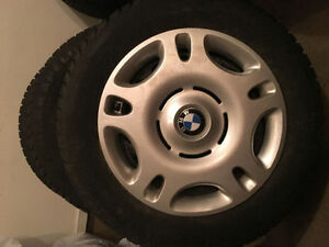 BMW wheels with all season Nokian 205/60/15