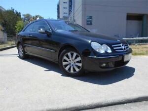 2005 Mercedes-Benz CLK200 Kompressor C209 Avantgarde Black 5 Speed Automatic Coupe
