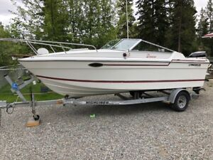20 foot Prowler with 150 HP Suzuki 4 stroke Outboard