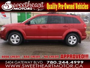 2009 Dodge Journey SE , 7 pass , NOBODY GETS TURNED DOWN..oac