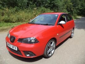 57-2008 Seat Ibiza FR - 1.9 TDI Diesel - Cambelt Changed - Full Service History