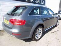 AUDI A4 ALLROAD 2.0 ALLROAD TDI QUATTRO S/S 5d 174 BHP (grey) 2014