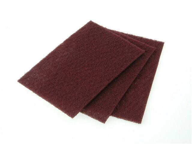 Abrasive hand pads Very Fine 10 Maroon Faithfull