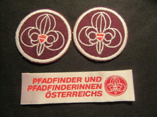 Austria Scout Patches, Lot of 3     c77