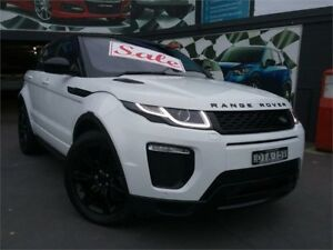 2017 Land Rover Range Rover Evoque LV MY17 TD4 180 HSE Dynamic White 9 Speed Automatic Wagon
