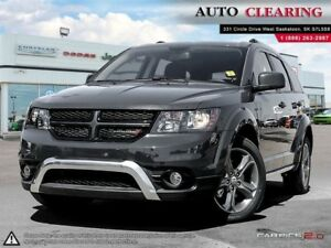 2017 Dodge Journey Crossroad with Navigation & Low KM