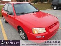 2000 Hyundai Accent GL *** ONLY $699.00 *** GREAT WINTER CAR