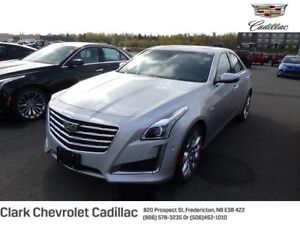 2018 Cadillac CTS Sedan Premium Luxury Collection AWD