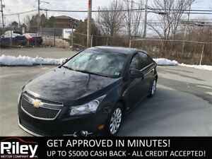 2011 Chevrolet Cruze LT Turbo+ w/1SB STARTING AT $108.03 BI-WEEK