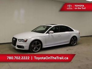 2014 Audi S4 S4 TECHNIK; 333 HP!!! SUNROOF, RED LEATHER, HEATED
