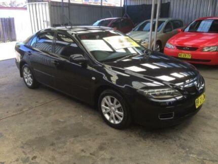 2006 Mazda 6 GG1032 Classic Black 5 Speed Automatic Hatchback Lidcombe Auburn Area Preview