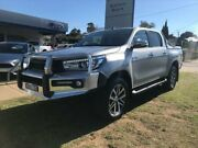 2015 Toyota Hilux GUN126R SR5 (4x4) Grey 6 Speed Automatic Dual Cab Utility Young Young Area Preview