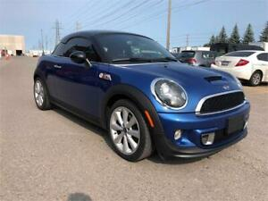 2012 MINI Cooper Coupe S - Manual- Certified- Low KMs
