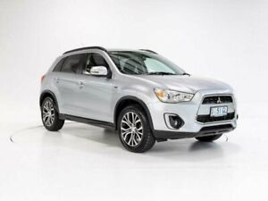 2015 Mitsubishi ASX XB MY15.5 LS (2WD) Silver Continuous Variable Wagon Cooee Burnie Area Preview