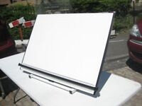 A1 Trueline Sherborne Portable Drawing Board Drafting Workstation 92X65X2cm