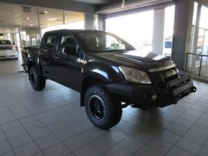 2016 Isuzu D-MAX TF MY15 SX (4x4) Cosmic Black 5 Speed Automatic Crew Cab Utility Thornleigh Hornsby Area Preview