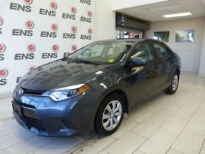 Toyota Certified 2016 Corolla LE  ***FREE OIL CHANGES FOR LIFE*