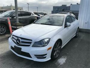 2013 Mercedes Benz C-Class 4MATIC Coupe  - Low Mileage