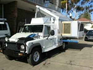 2002 Land Rover Defender 130 (4x4) White 5 Speed Manual 4x4 Cab Chassis Roselands Canterbury Area Preview