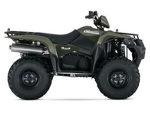2016 SUZUKI KINGQUAD 750AXI DIRECTION ASSISTÉE