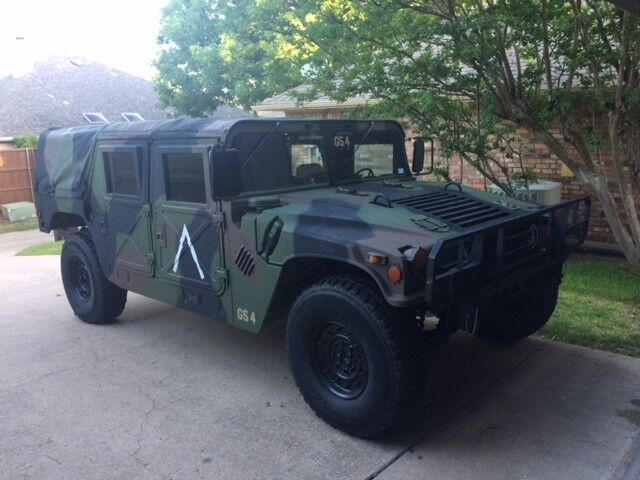 1994 Hummer H1 M998 1994 AM GENERAL HMMWV HUMVEE HUMMER M998 A1 MILITARY H1