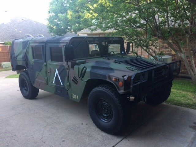 1994 Hummer H1 M998 1994 AM GENERAL HMMWV HUMVEE HUMMER M998 A1 MILITARY