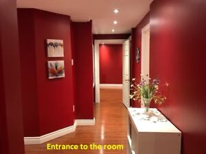 One Furnished Room in Ajax for rent to female tenant