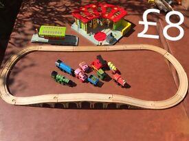 Big jags wooden track