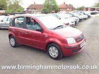 2005 (04 Reg) Fiat Panda 1.2 8V DYNAMIC 5DR Hatchback RED + LOW MILES