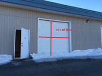 400sq Feet of warehouse space available in Donovons Ind Park