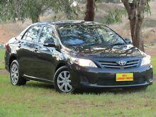2011 Toyota Corolla ZRE152R MY11 Ascent Black 4 Speed Automatic Sedan Strathalbyn Alexandrina Area Preview