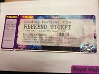 Weekend Reading Festival Ticket (Camping)