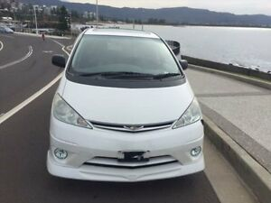 2005 Toyota Estima ACR30 Aeras White Automatic 5 DOORS 7 SEATS PEOPLE MOVER North Wollongong Wollongong Area Preview