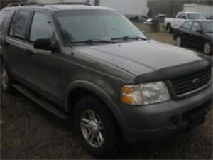 2002 Ford Explorer	XLS ALL WHEEL DRIVE