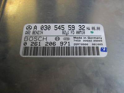 MERCEDES W208 W220 W210 E CLK S 430 MOTORSTEUERGERÄT 0305455932 0261206971