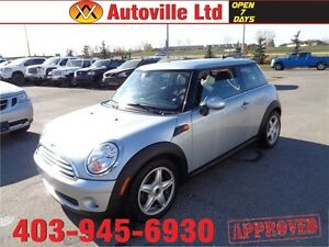 2009 MINI COOPER AUTOMATIC LEATHER PANORAMIC SUNROOF LOW KM