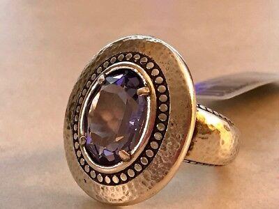 BRIGHTON Purple Tanzanite Ring Your True Color GRATEFUL Stunning Size 9 NEW