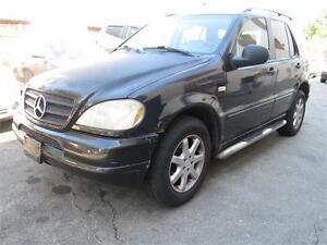 1999 Mercedes Benz ML430 Trailer Hitch/Sunroof/For sale as is.