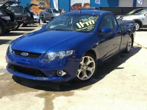 2009 Ford Falcon FG XR6 Ute Super Cab Blue 5 Speed Sports Automatic Utility
