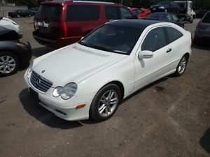 MERCEDES BENZ (C230 CUPE 2002/2005/PARTS PARTS ONLY)