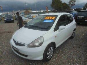 2005 Honda Jazz Upgrade VTi White 5 Speed Manual Hatchback Greenacre Bankstown Area Preview