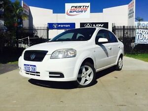 2006 Holden Barina TK White 4 Speed Automatic Sedan Beckenham Gosnells Area Preview